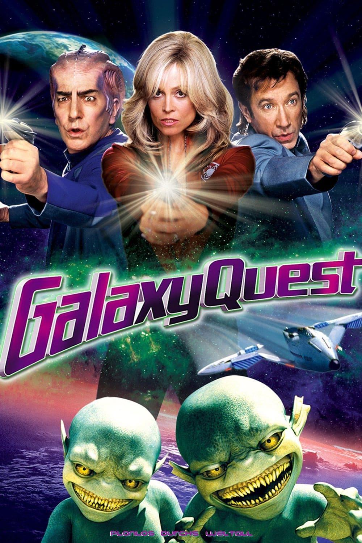 """Plakat von """"Galaxy Quest - Planlos durchs Weltall"""""""