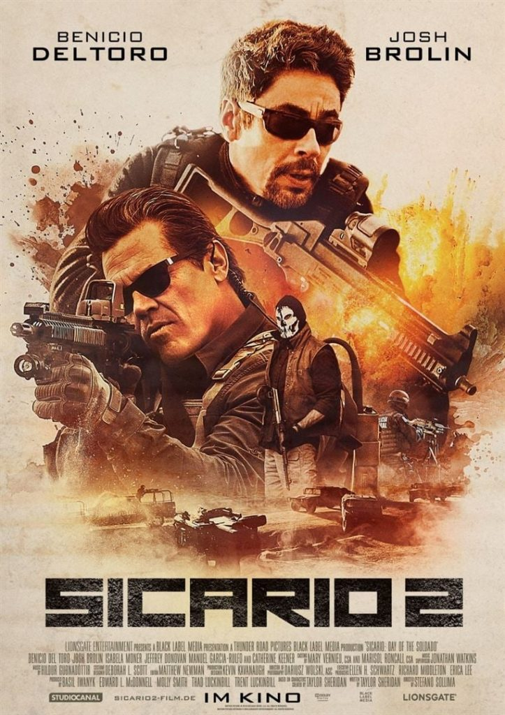"""Plakat von """"Sicario 2"""""""