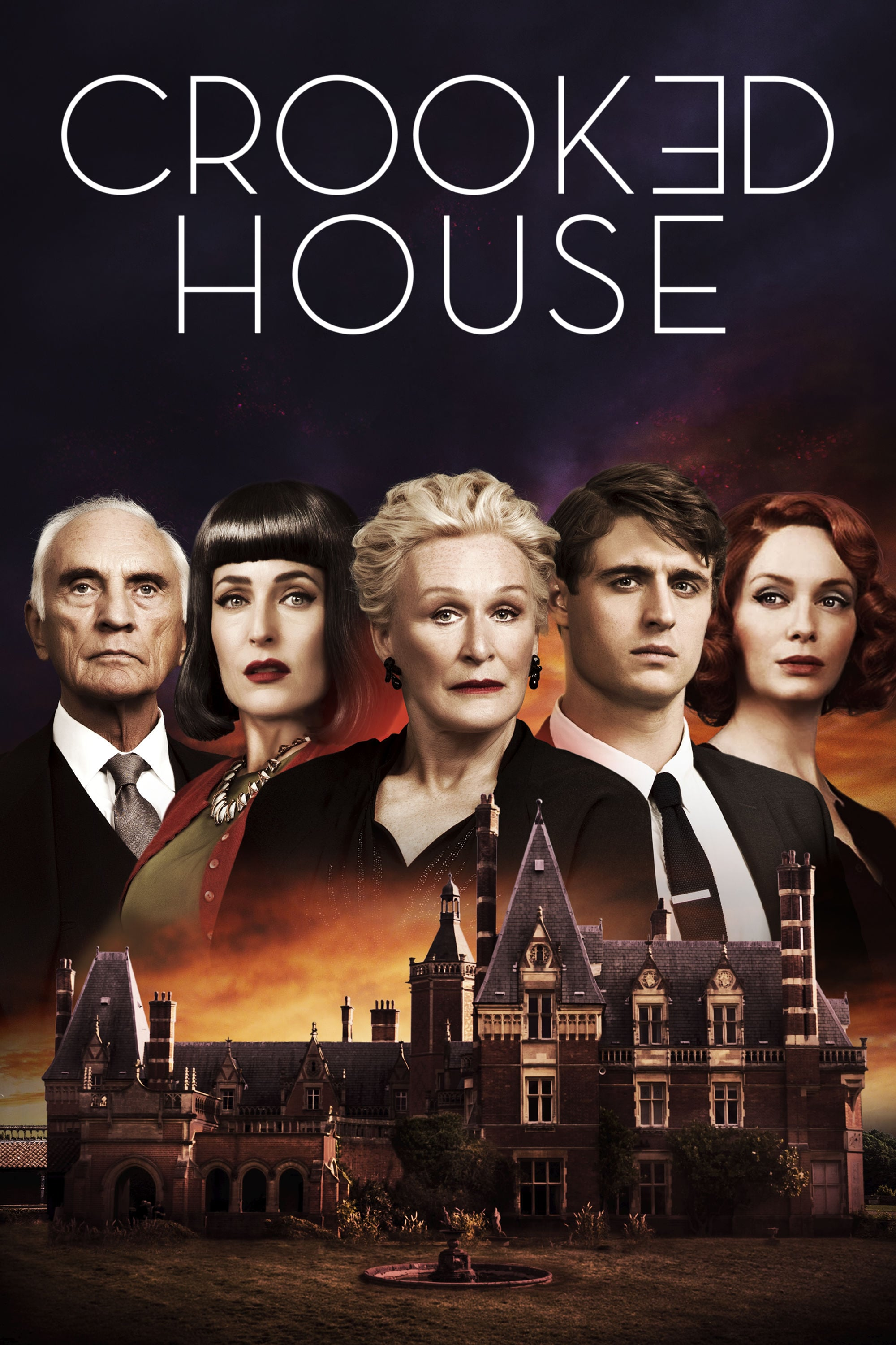 "Plakat von ""Crooked House"""