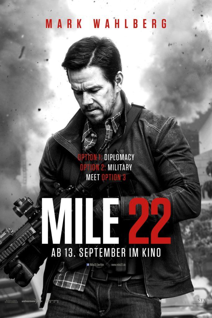 """Plakat von """"Mile 22"""""""