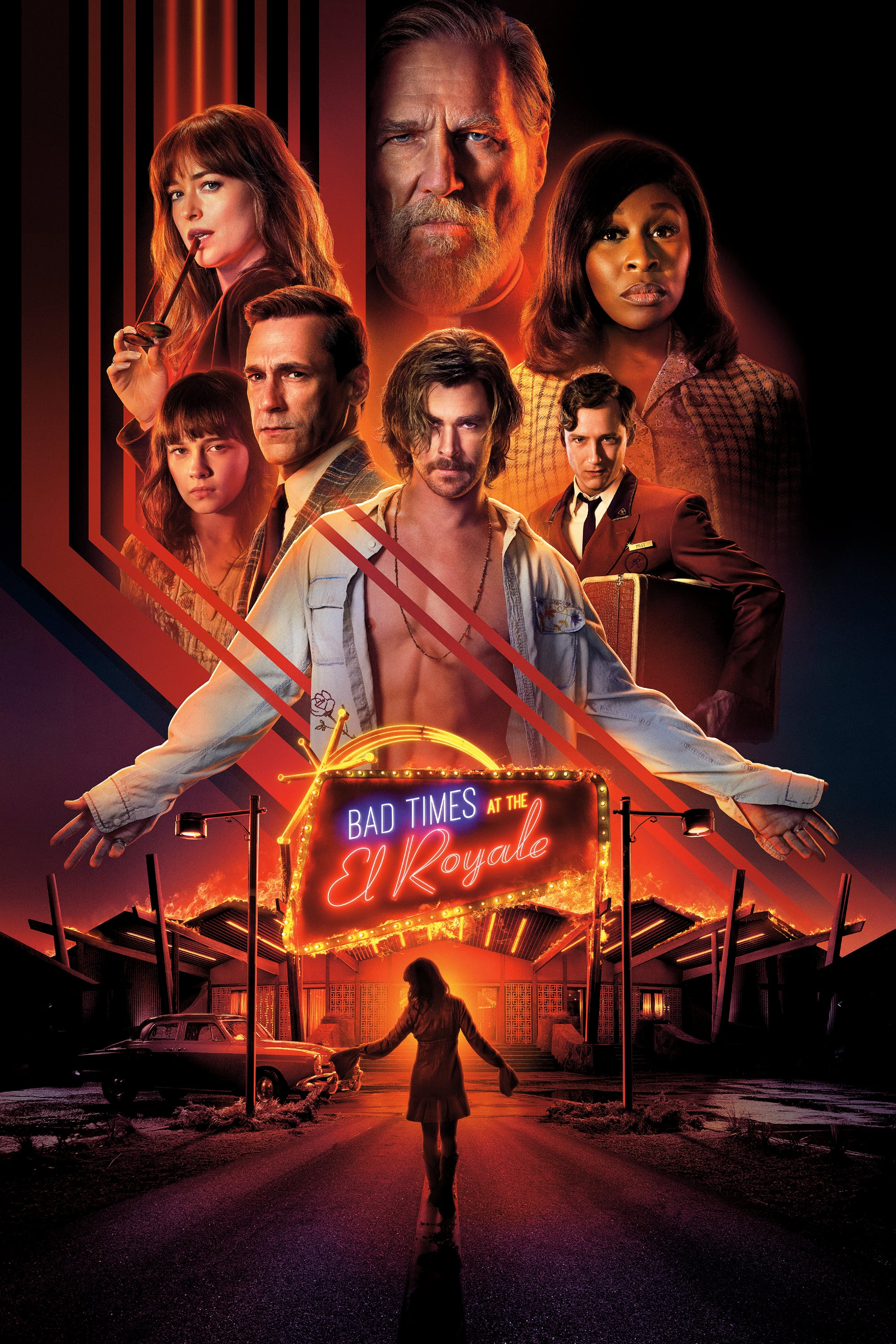 "Plakat von ""Bad Times at the El Royale"""