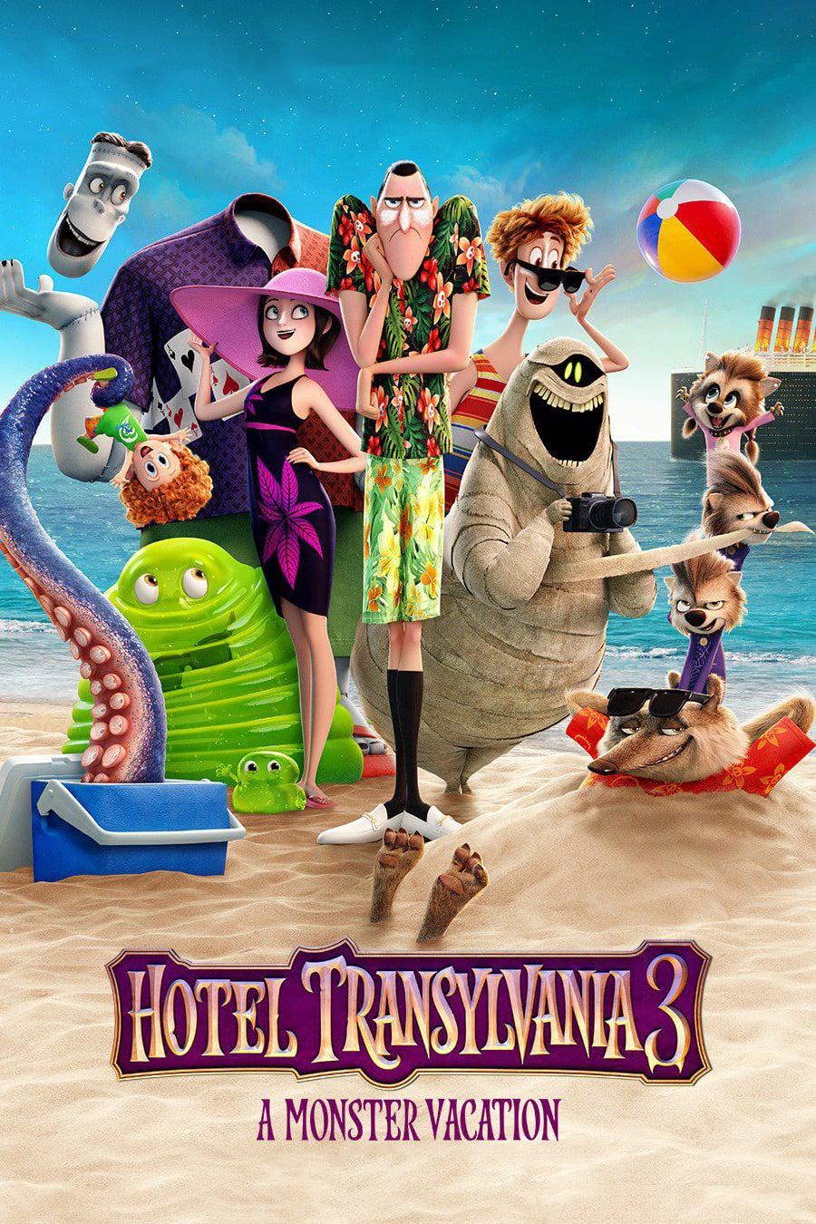 """Plakat von """"Hotel Transsilvanien 3 - Ein Monster Urlaub"""""""