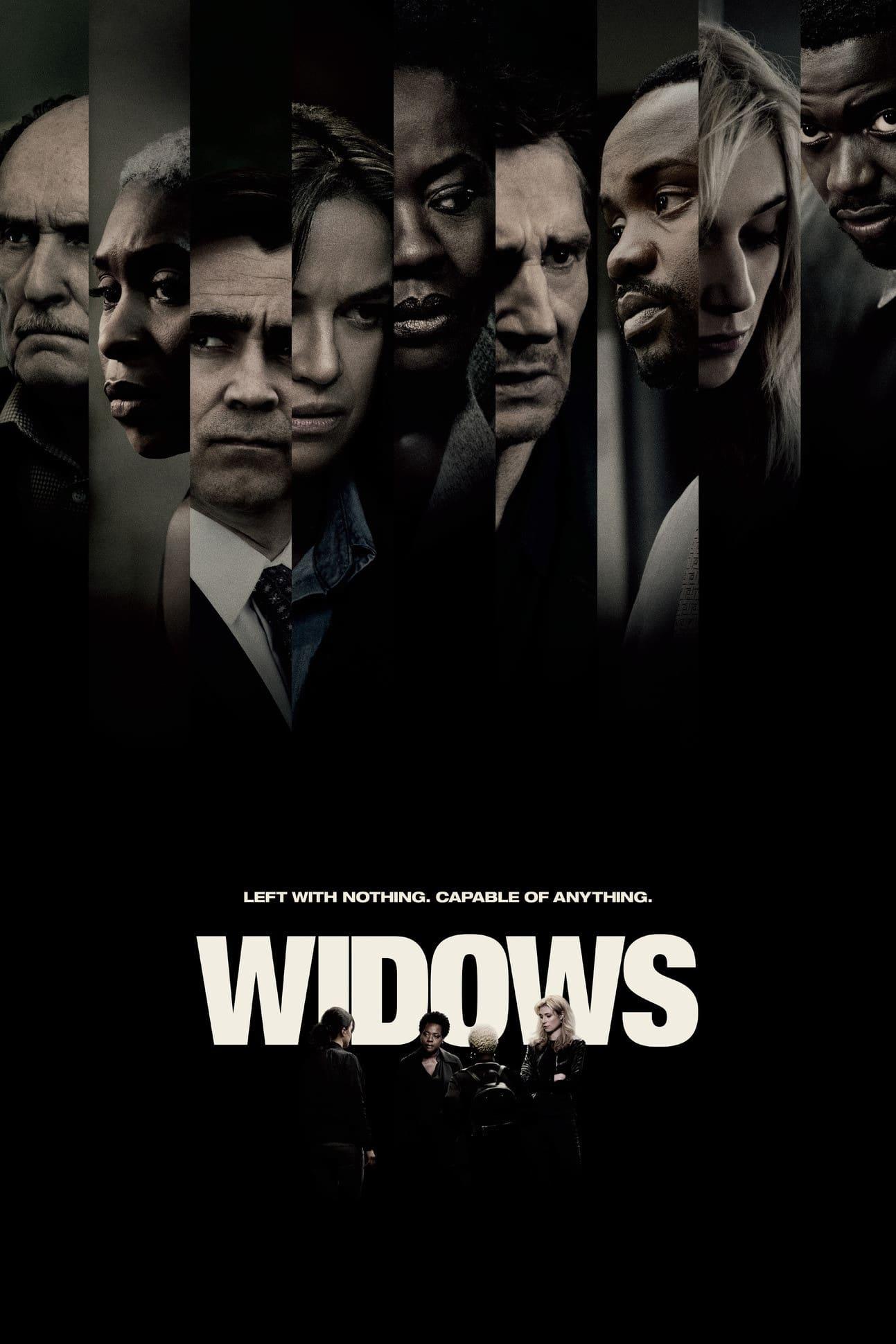 """Plakat von """"Widows - Tödliche Witwen"""""""