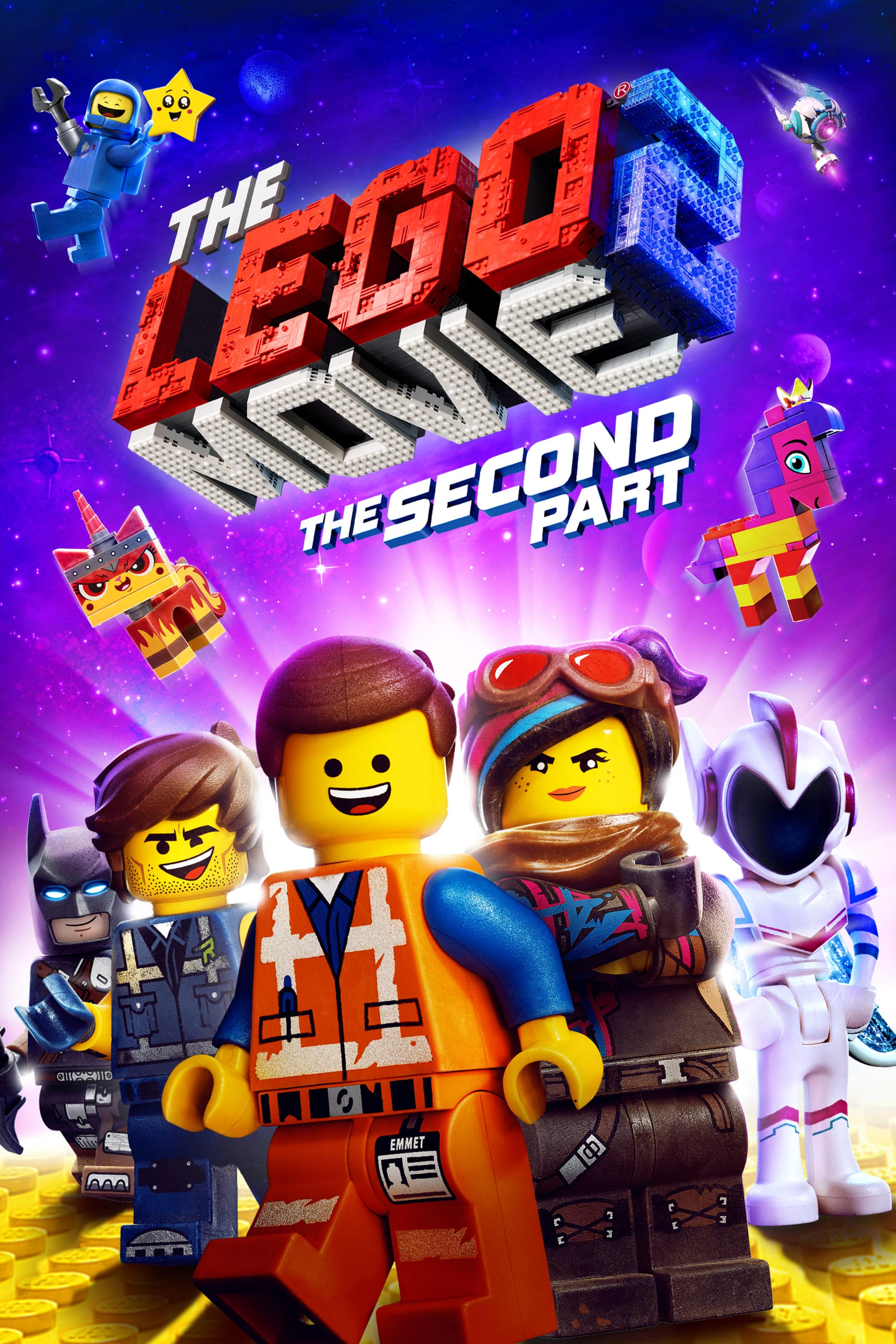 "Plakat von ""The LEGO Movie 2"""