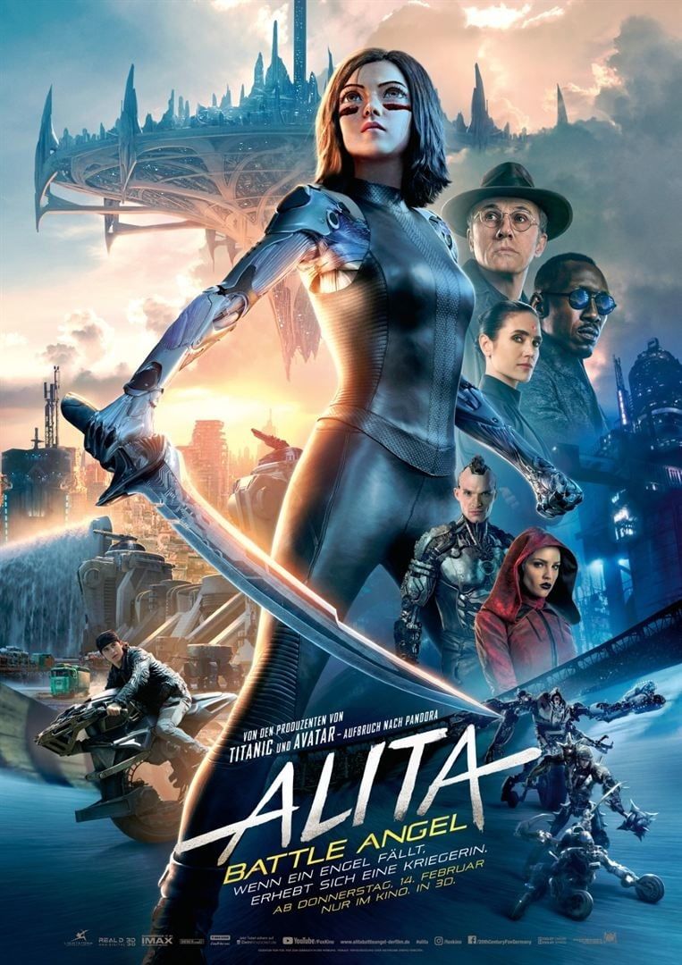 "Plakat von ""Alita - Battle Angel"""