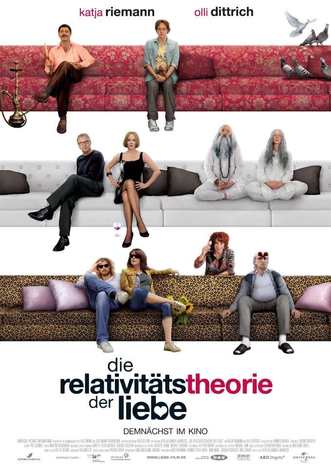 """Plakat von """"Die Relativitätstheorie der Liebe"""""""