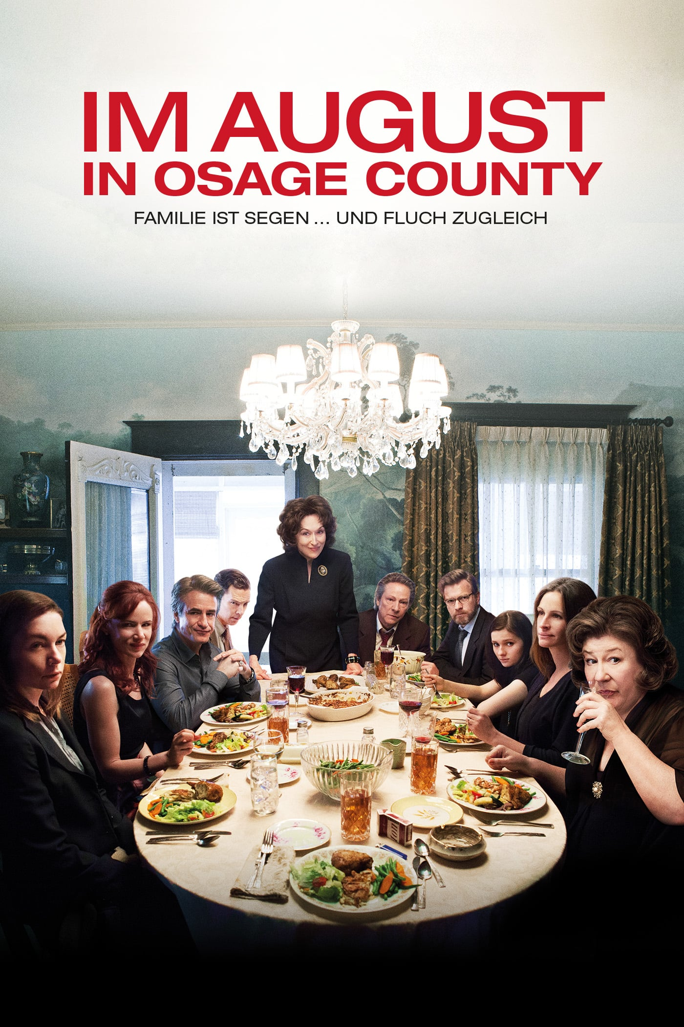 "Plakat von ""Im August in Osage County"""