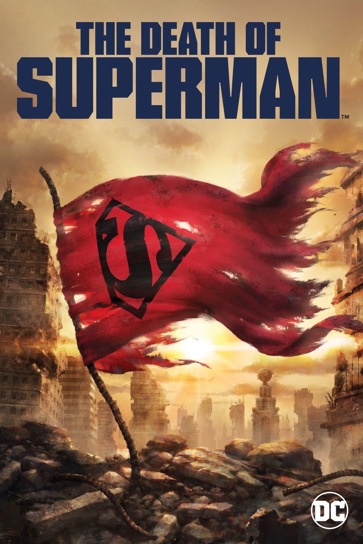 """Plakat von """"The Death of Superman"""""""