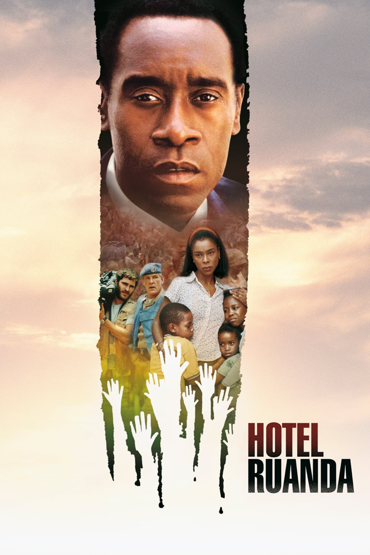 "Plakat von ""Hotel Ruanda"""