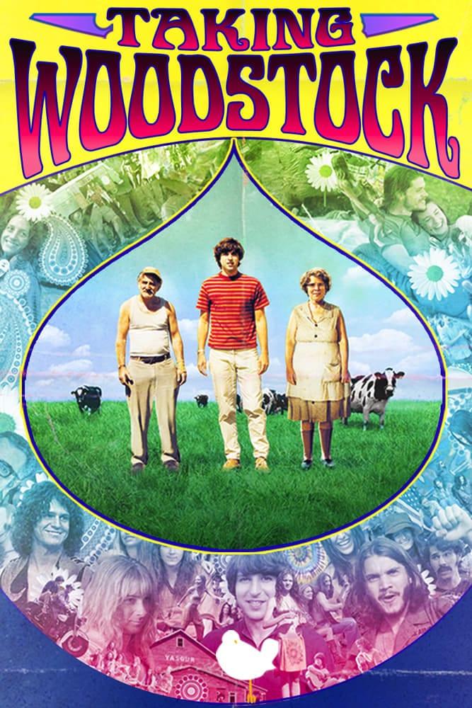 "Plakat von ""Taking Woodstock"""