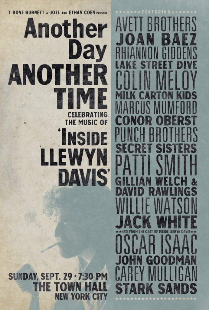 """Plakat von """"Another Day, Another Time: Celebrating the Music of """"Inside Llewyn Davis"""""""""""