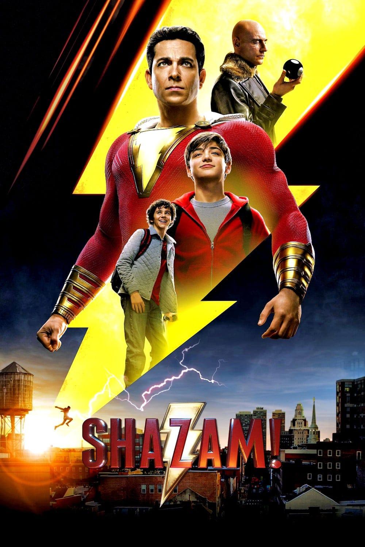 """Plakat von """"Shazam!"""""""