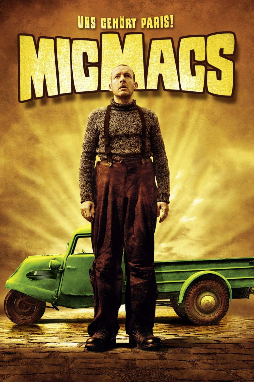 """Plakat von """"Micmacs - Uns gehört Paris!"""""""