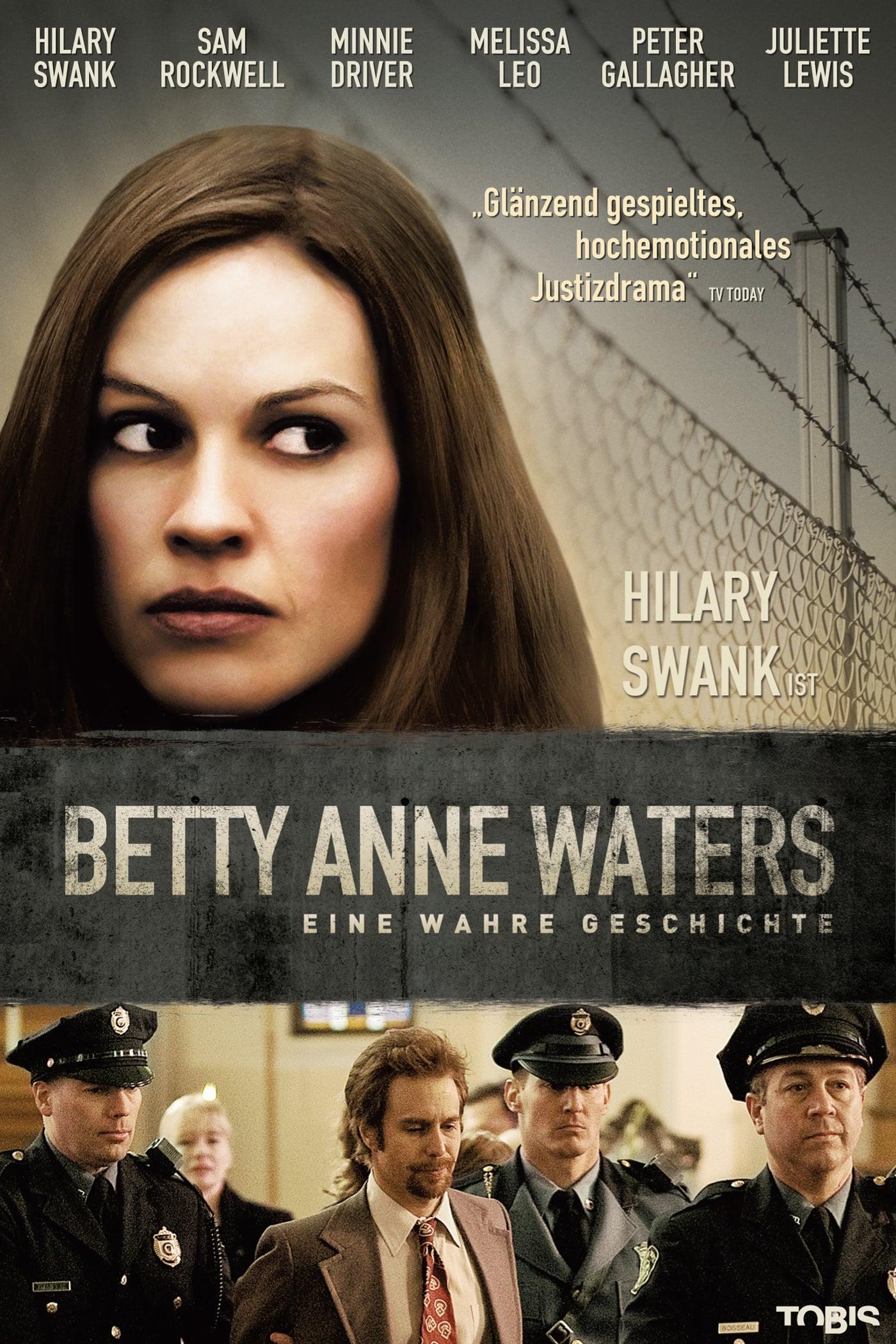 """Plakat von """"Betty Anne Waters"""""""