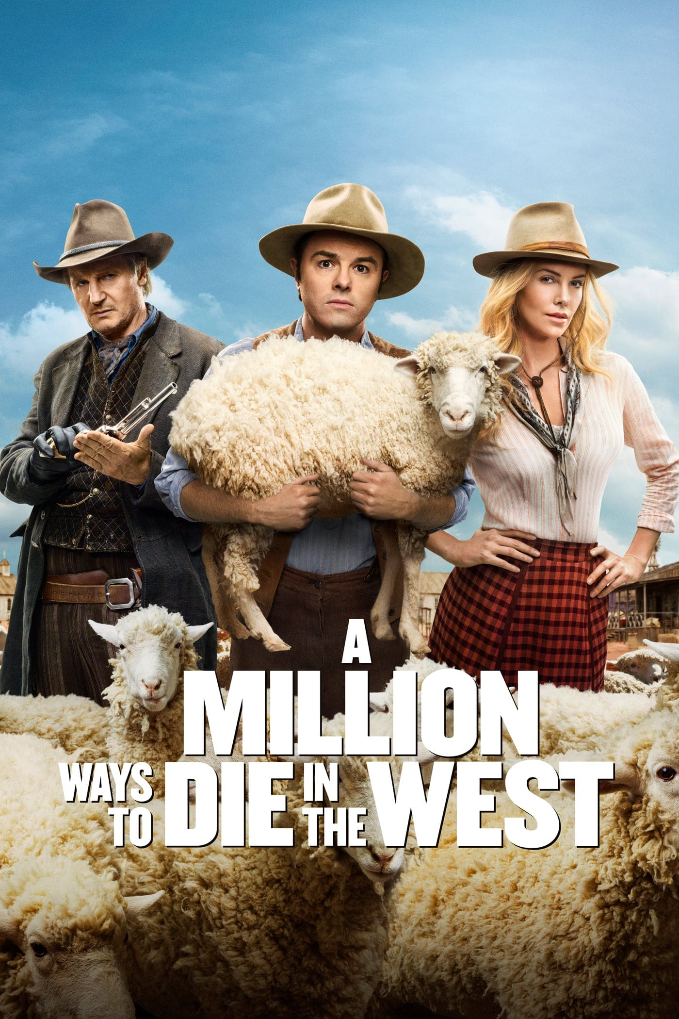 "Plakat von ""A Million Ways to Die in the West"""