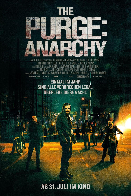 """Plakat von """"The Purge: Anarchy"""""""