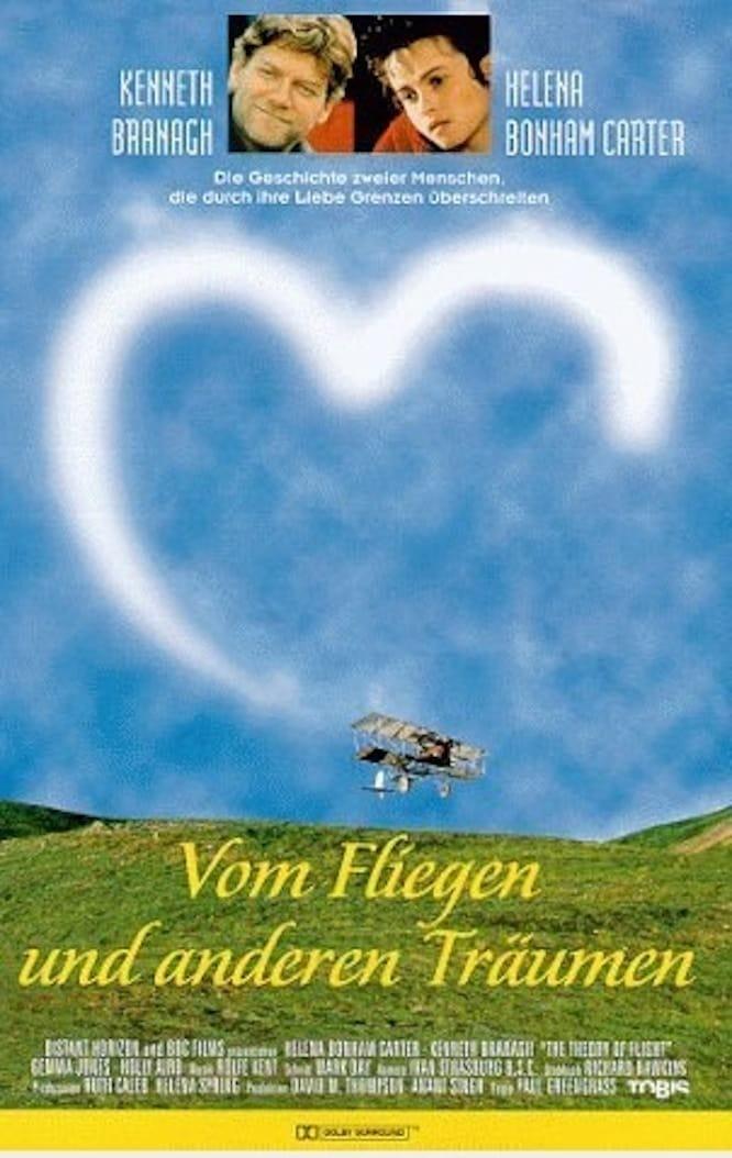 """Plakat von """"Vom Fliegen und anderen Träumen"""""""