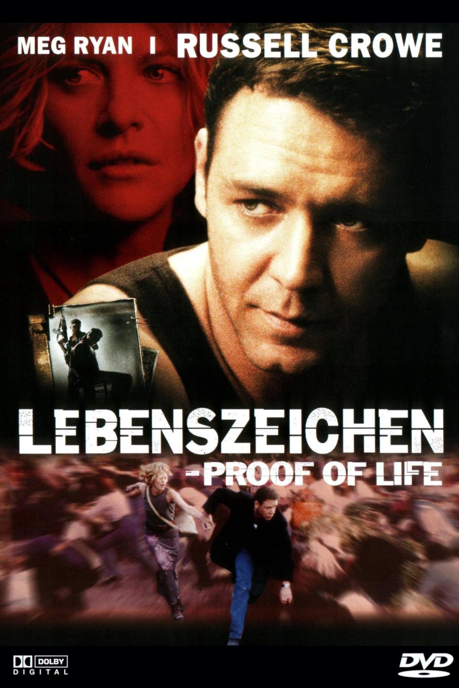 """Plakat von """"Lebenszeichen - Proof of Life"""""""