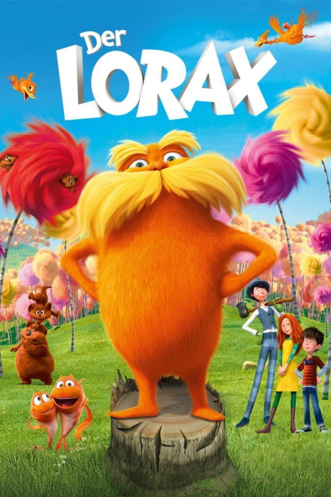 """Plakat von """"Der Lorax"""""""