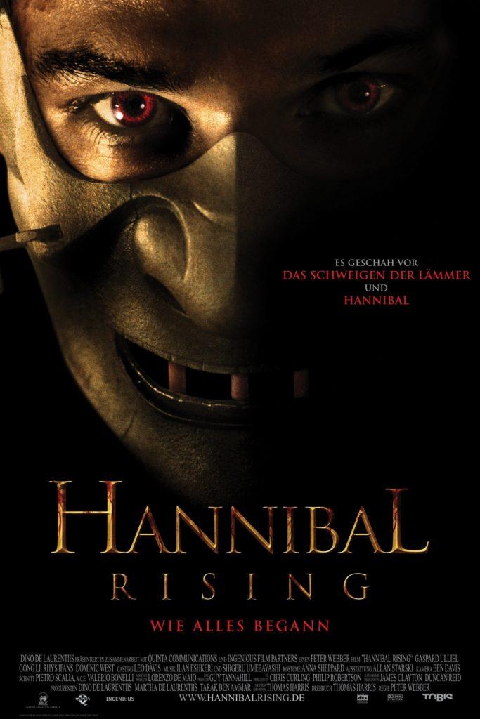 "Plakat von ""Hannibal Rising"""