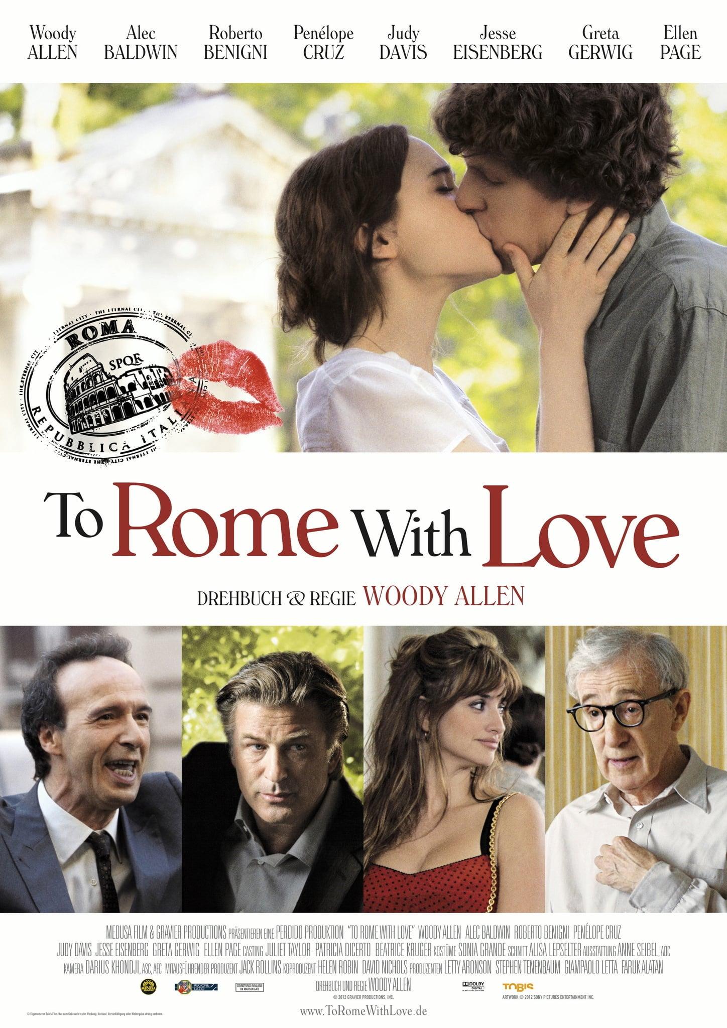 """Plakat von """"To Rome with Love"""""""