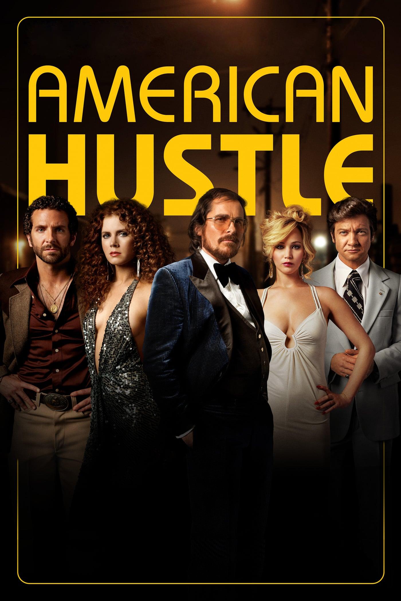 """Plakat von """"American Hustle"""""""