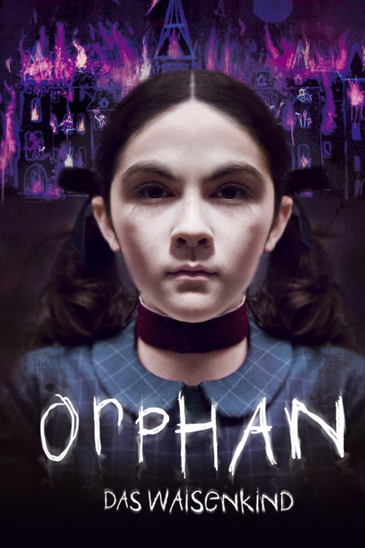 """Plakat von """"Orphan - Das Waisenkind"""""""