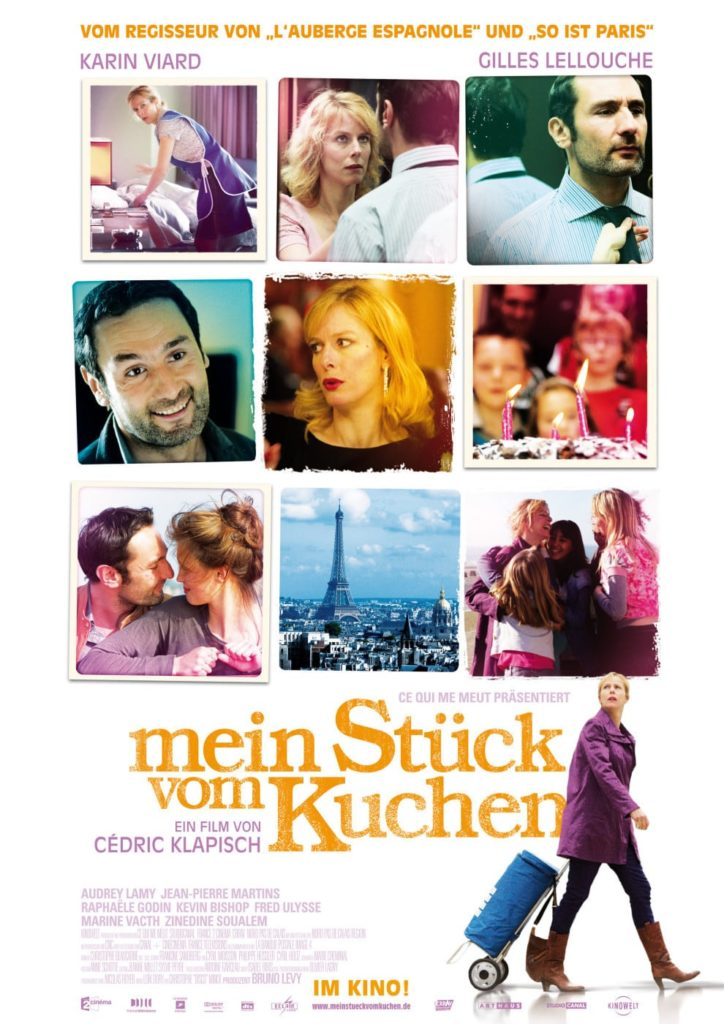 """Plakat von """"Mein Stück vom Kuchen"""""""