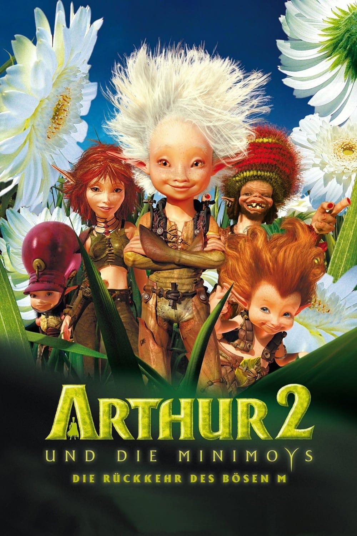 """Plakat von """"Arthur und die Minimoys 2 - Die Rückkehr des bösen M"""""""