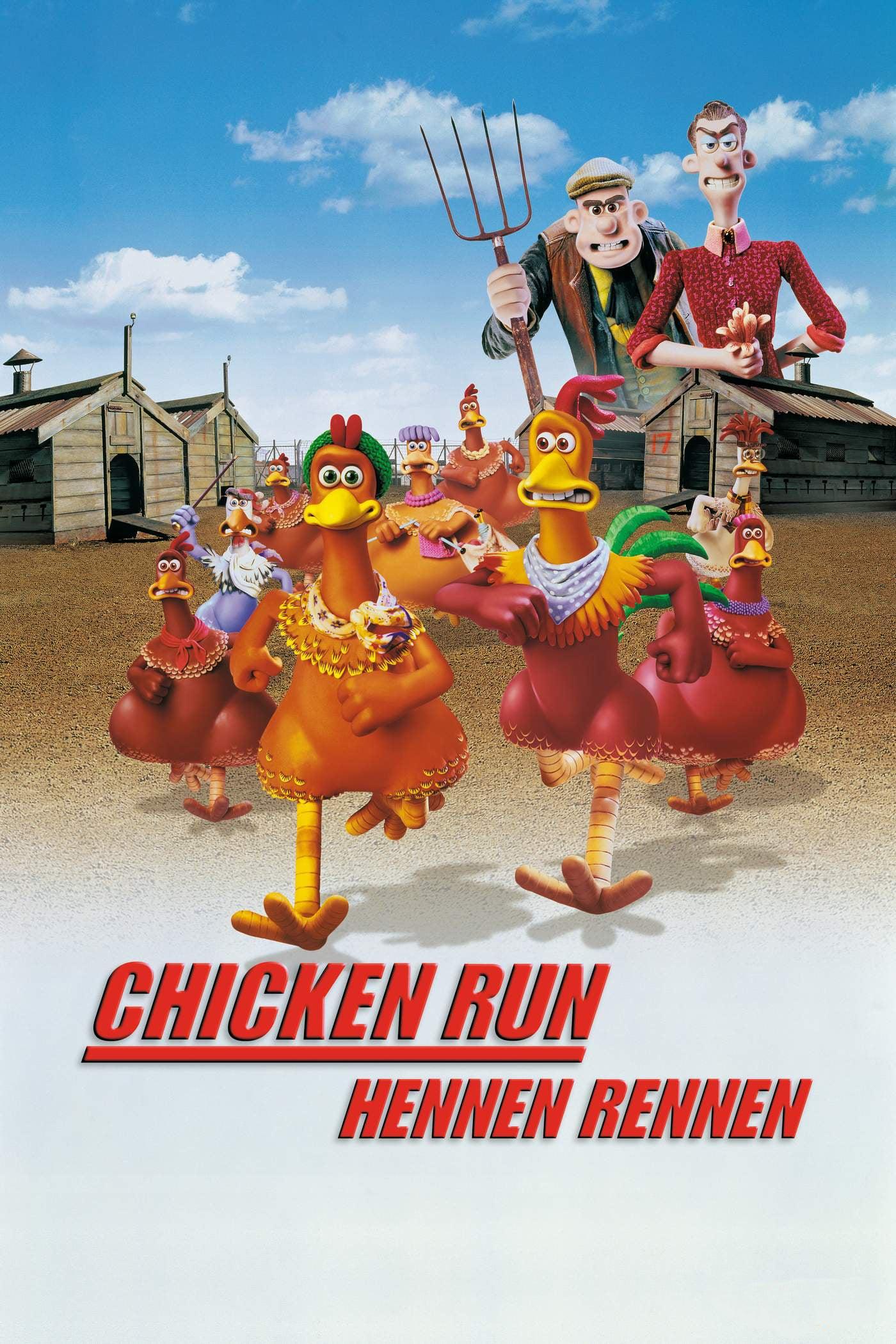 """Plakat von """"Chicken Run - Hennen rennen"""""""