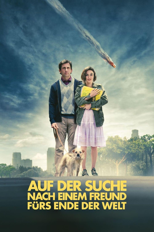 """Plakat von """"Auf der Suche nach einem Freund fürs Ende der Welt"""""""