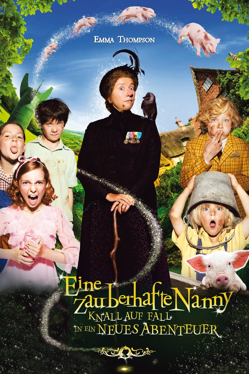 """Plakat von """"Eine zauberhafte Nanny - Knall auf Fall in ein neues Abenteuer"""""""