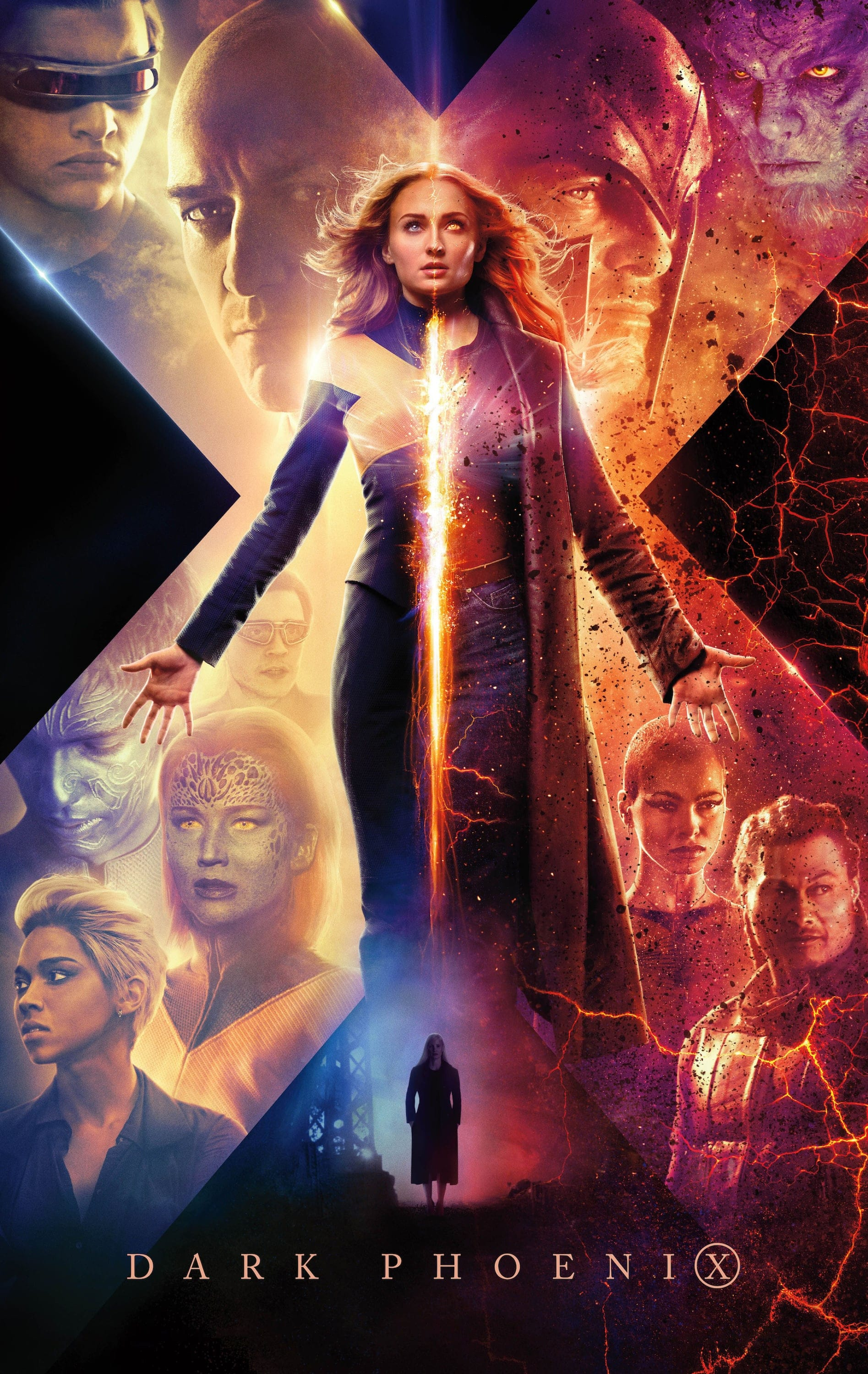 "Plakat von ""X-Men - Dark Phoenix"""