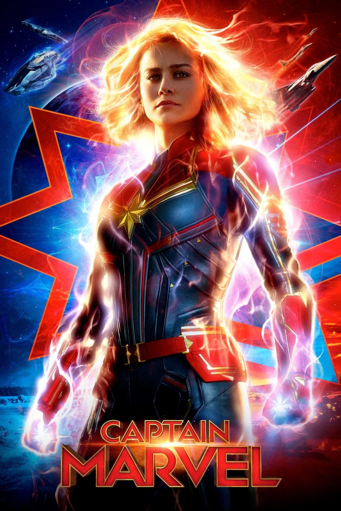 "Plakat von ""Captain Marvel"""