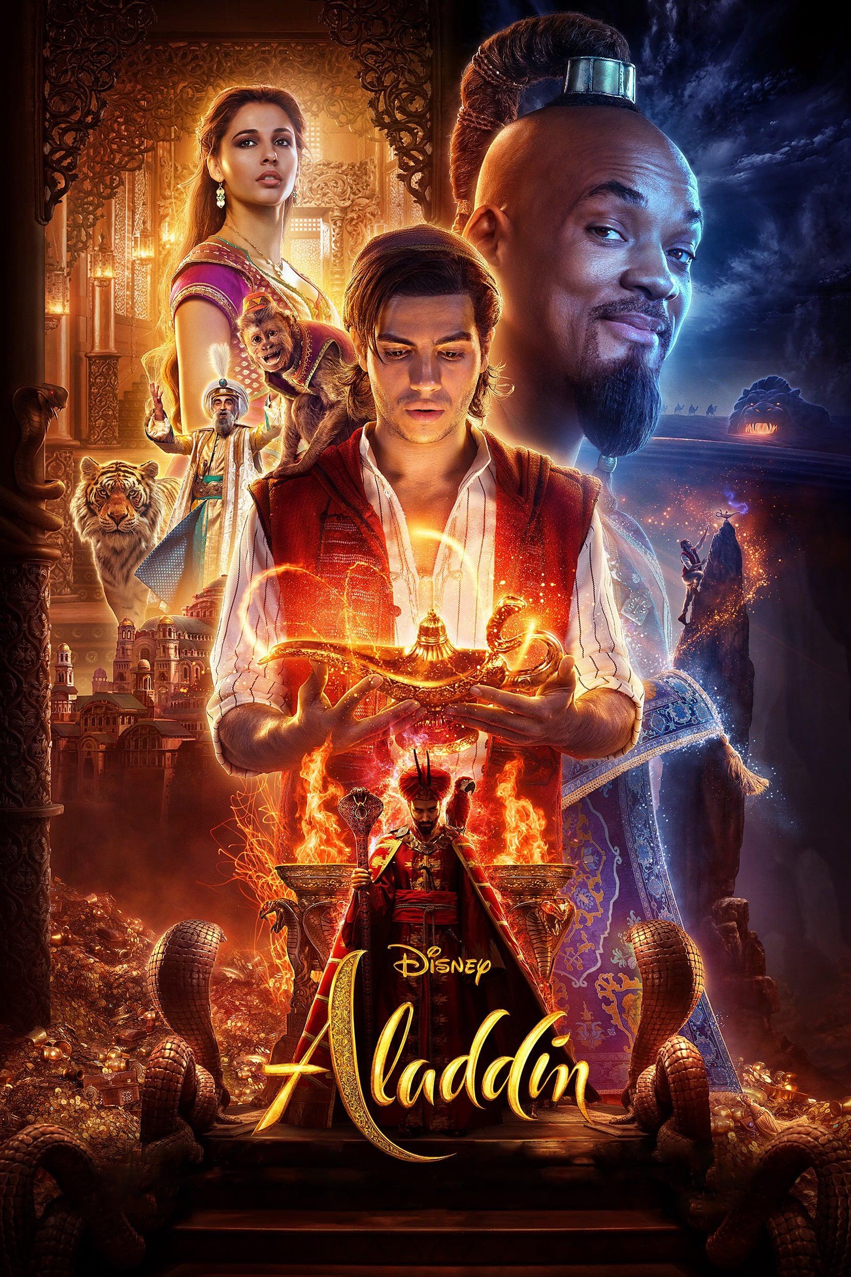 """Plakat von """"Aladdin"""""""