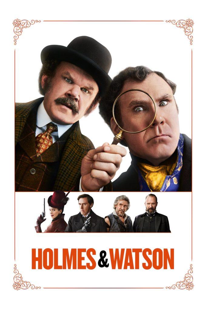 """Plakat von """"Holmes & Watson"""""""