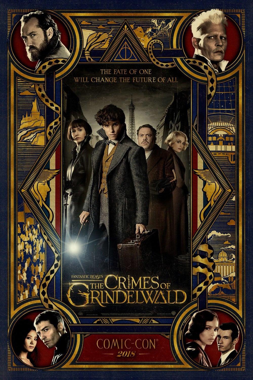 """Plakat von """"Phantastische Tierwesen: Grindelwalds Verbrechen"""""""