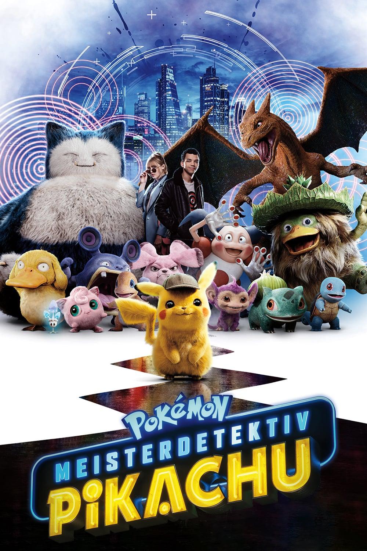 "Plakat von ""Pokémon: Meisterdetektiv Pikachu"""