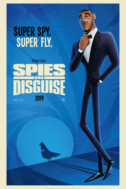 """Plakat von """"Spione Undercover - Eine wilde Verwandlung"""""""