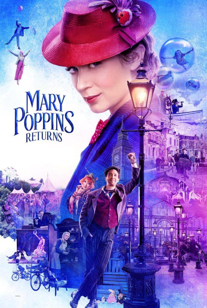 """Plakat von """"Mary Poppins' Rückkehr"""""""