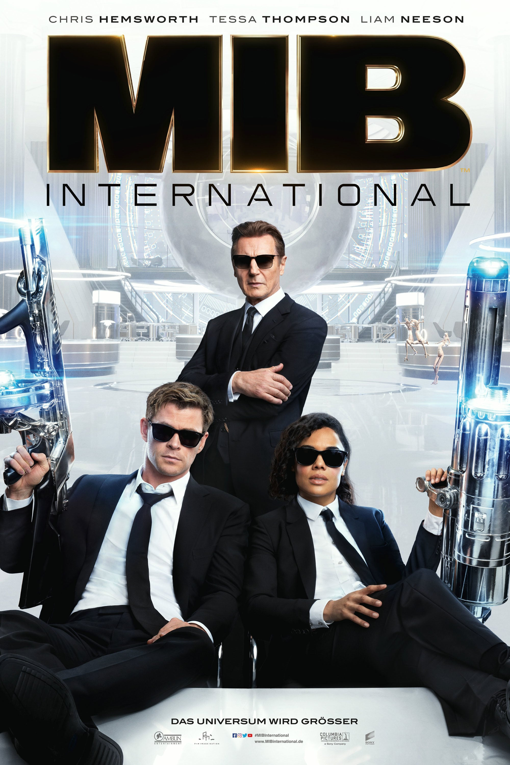 "Plakat von ""Men in Black: International"""