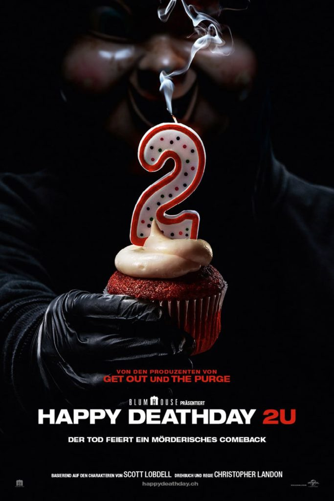 "Plakat von ""Happy Death Day 2U"""