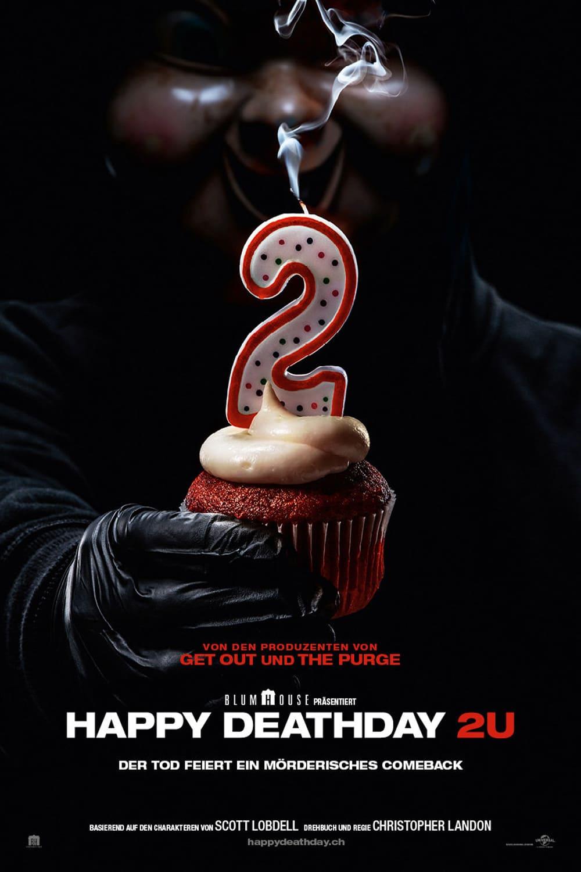 """Plakat von """"Happy Death Day 2U"""""""