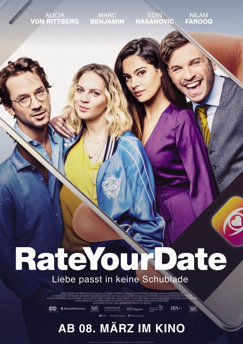 "Plakat von ""Rate your Date"""