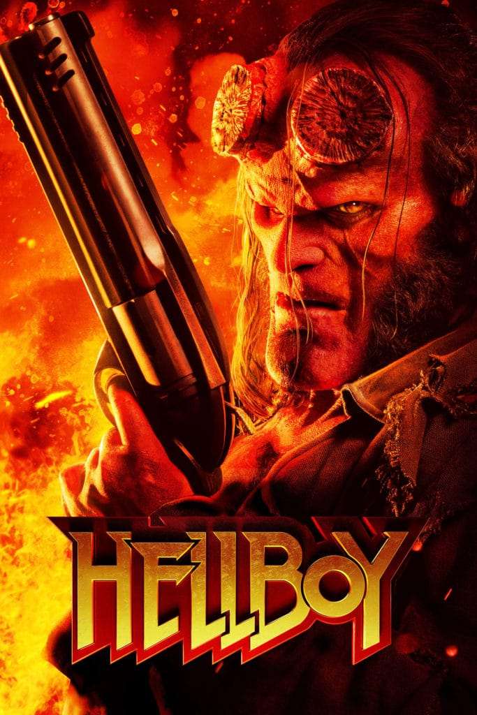 "Plakat von ""Hellboy - Call of Darkness"""