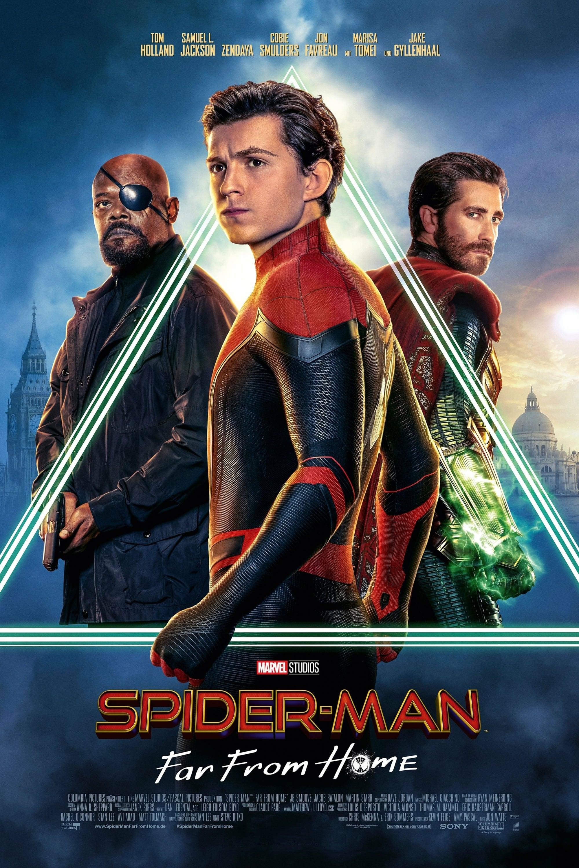 """Plakat von """"Spider-Man: Far From Home"""""""
