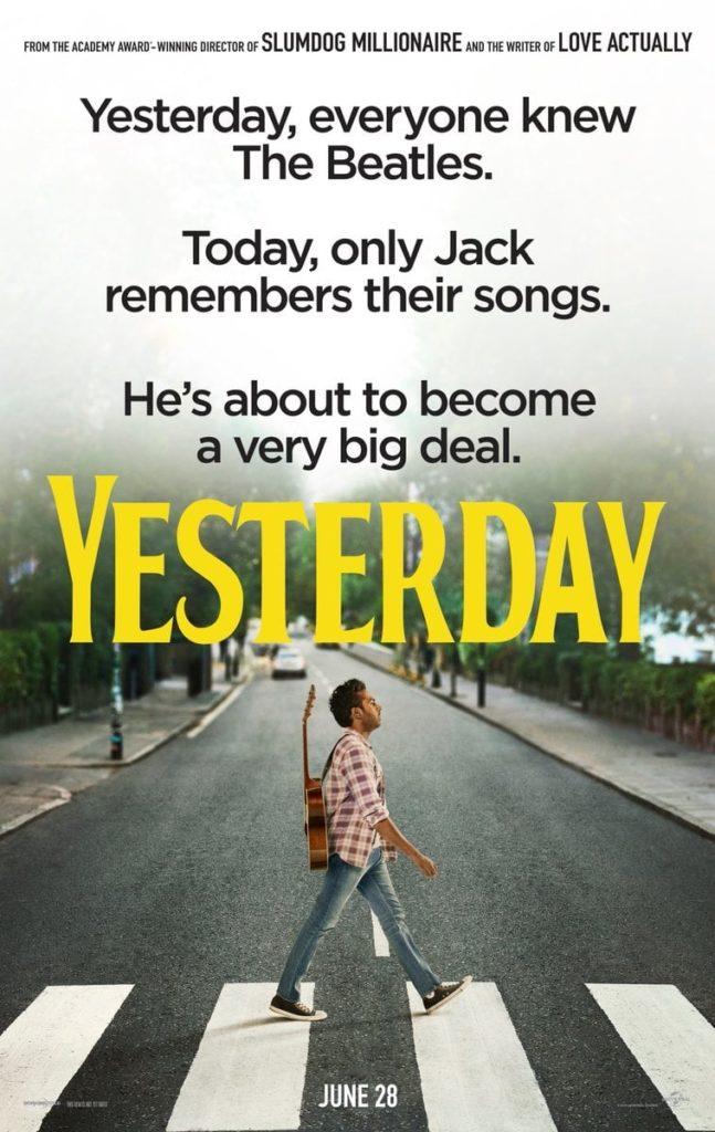 """Plakat von """"Yesterday"""""""