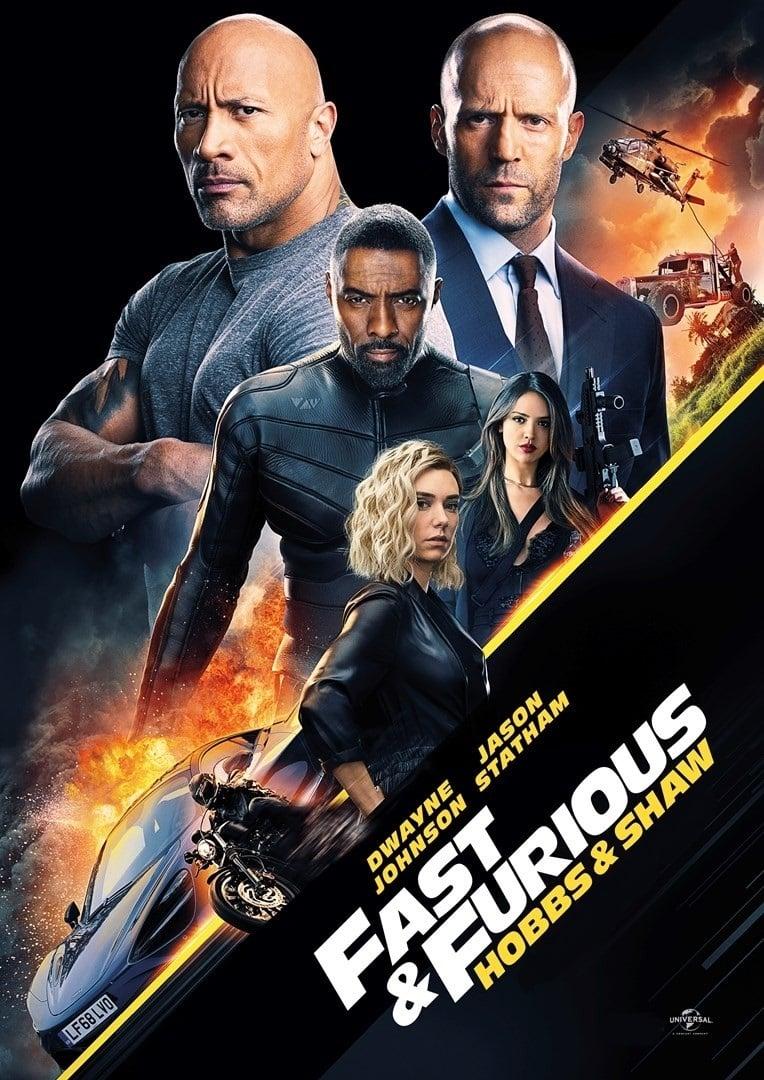 """Plakat von """"Fast & Furious Presents: Hobbs & Shaw"""""""