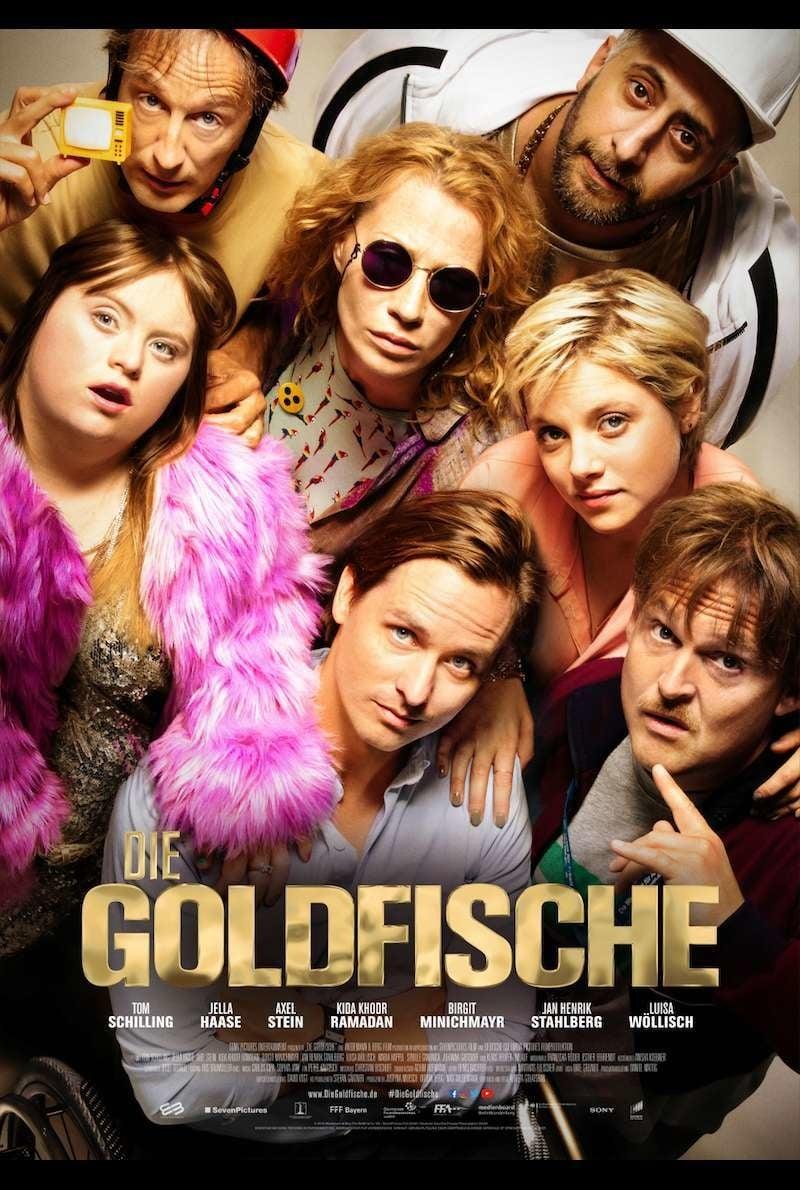 """Plakat von """"Die Goldfische"""""""