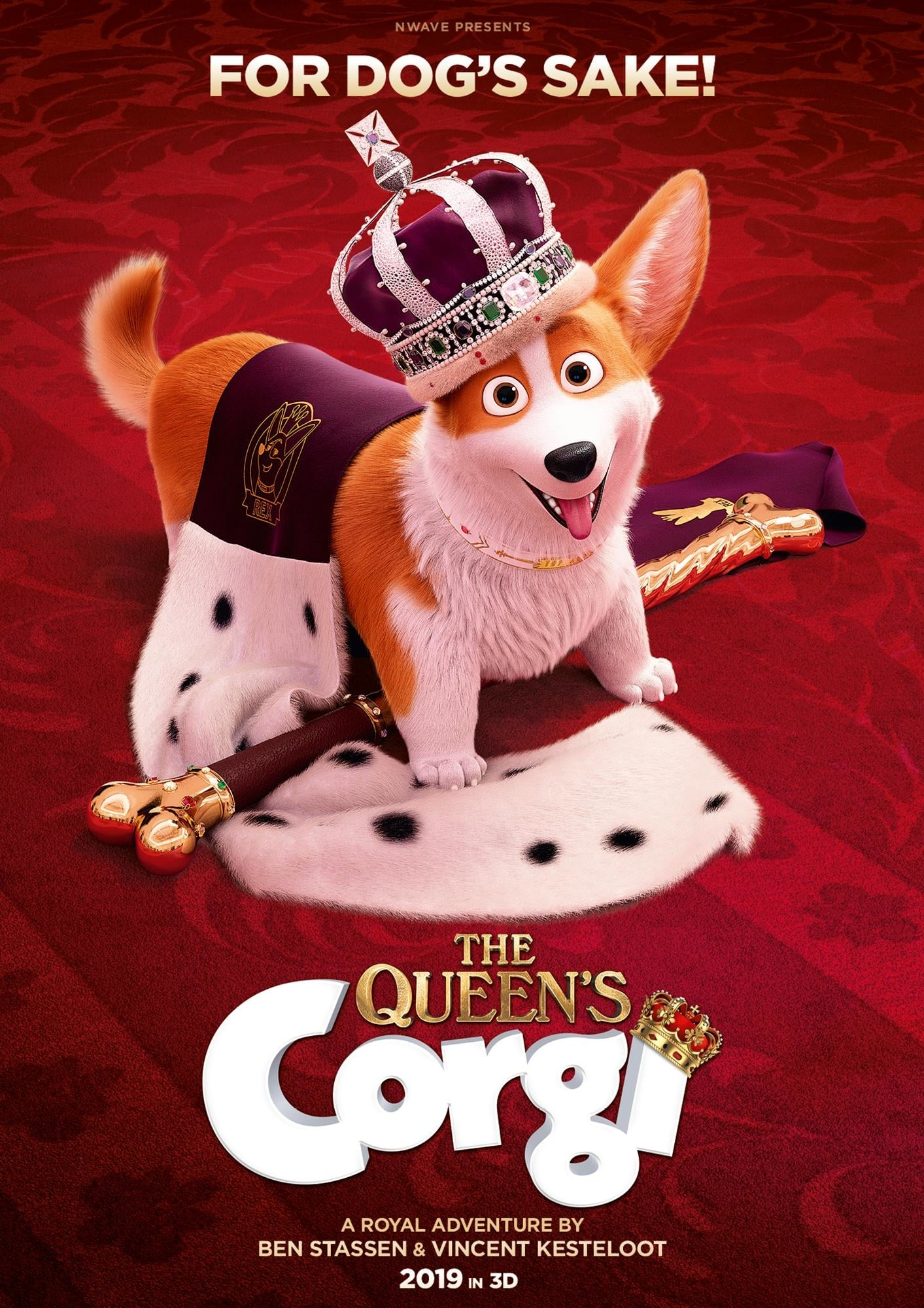 """Plakat von """"Royal Corgi - Der Liebling der Queen"""""""